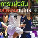 รายการแข่งขันเกมบาสเกตบอลในไทย การแข่งขันในไทย ระดับท้องถิ่น ระดับจังหวัดการจัดการแข่งขันในไทย กีฬาบาสเกตบอลไทย ในระดับต้น มีดังนี้
