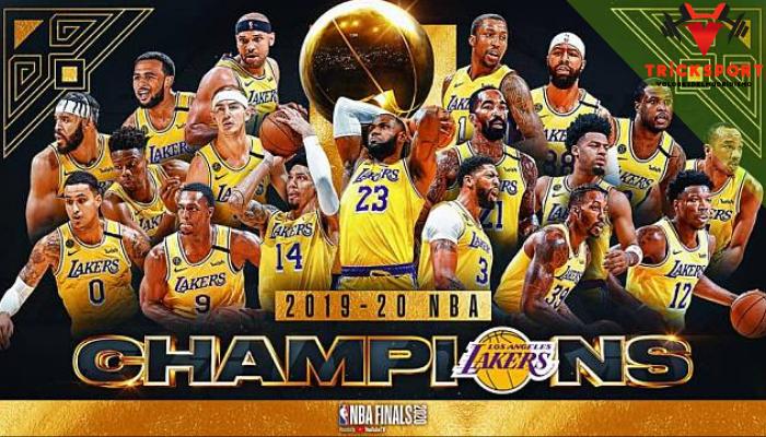 ผลการแข่งขัน NBA ล่าสุด ฤดูกาล 2019-2020 และแชมป์ประจำฤดูกาล