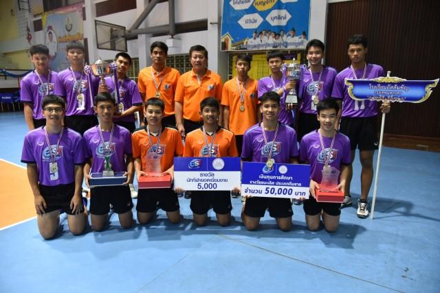 """การแข่งขันวอลเลย์บอลยุวชน  รุ่นอายุไม่เกิน 16 ปี ชิงชนะเลิศแห่งประเทศไทยในครั้งนี้ สาวนครนนท์-หนุ่มนครสวรรค์ คว้าแชมป์วอลเลย์บอล """"เอสโคล่า""""   Remove term: เอสโคล่า เอสโคล่าRemove term: แชมป์วอลเลย์บอล แชมป์วอลเลย์บอลRemove term: สาวนครนนท์ สาวนครนนท์Remove term: หนุ่มนครสวรรค์ หนุ่มนครสวรรค์Remove term: แชมป์ยุวชนรุ่น 16 ปี แชมป์ยุวชนรุ่น 16 ปีRemove term: ทีมโรงเรียนกีฬานครนนท์วิทยา 6 ทีมโรงเรียนกีฬานครนนท์วิทยา 6Remove term: การแข่งขันวอลเลย์บอลยุวชน การแข่งขันวอลเลย์บอลยุวชนRemove term: ข่าววอลเล่ย์บอล ข่าววอลเล่ย์บอล"""