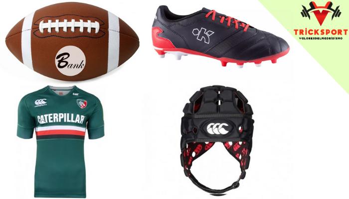 อุปกรณ์กีฬารักบี้ฟุตบอล กีฬารักบี้ฟุตบอล หรือที่นิยมเรียกกันว่า กีฬารักบี้ เป็นกีฬาที่นิยมเล่นกันอย่างเเพร่หลาย นำมาเล่นกันในโรงเรียน