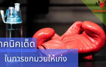 เทคนิคเด็ดในการชกมวยให้เก่งและเอาไว้ป้องกันตัวเองได้ มวยไทยถือเป็นศิลปะการต่อสู้และเป็นศิลปะประจำชาติไทยมวยไทยมีเกิดขึ้นมานาน