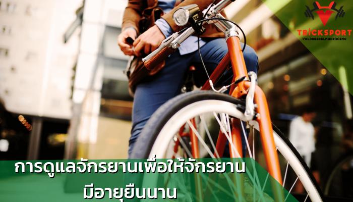 นักปั่นควรทำอะไรบ้าง เพื่อให้จักรยานมีอายุยืนนาน การดูแลจักรยาน นั้นเป็นสิ่งที่นักปั่นต้องให้ความสำคัญเป็นอย่างมากการดูแลรักษาขั้นตอนง่าย ๆ